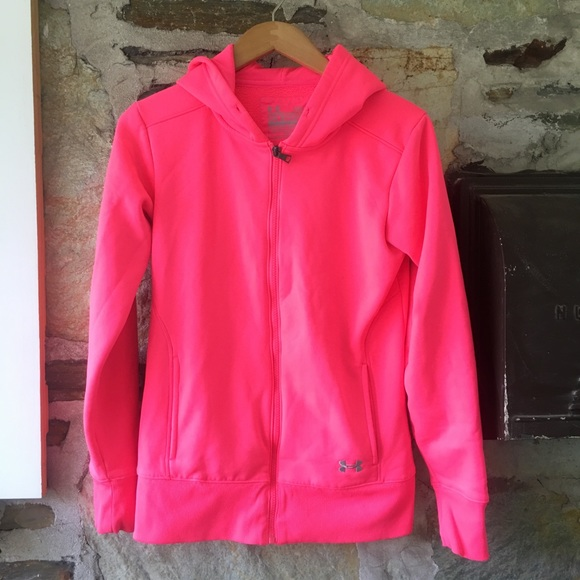 Under Armor UA Storm semi-fitted zip up, sz s (p)